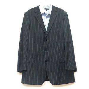 EMANUEL UNGARO Men's Suit Jacket 50XL Anthracite